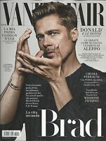Vanity Fair Italian Magazine Brad Pitt Fashion Richard Madden Chiara Ferragni
