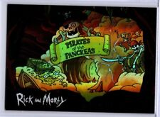 Cryptozoic Rick and Morty Anatomy Park #AP12 Pirates of the Pancreas Card