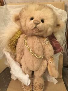 Charlie Bears CUPID 2013 Isabelle Mohair Collection FREE US SHIP