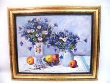 Gemälde RUSSISCHER MALER Kornblumen  B10
