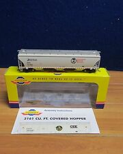 ATHEARN GENESIS G4263 TRINITY 5161 CU. FT. COVERED HOPPER CP / SOO HO  548616