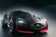 Framed Print - Citroen Survolt (Picture Poster Porsche Audi Ferrari Aston Martin