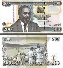 Kenya 200 Shillings 1 - June - 2005 Uncirculated P.43