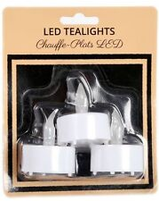 Unscented Plastic Round Candles & Tea Lights