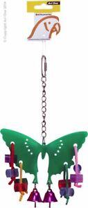 Avi One Parrot Bird Toy - Acyrlic Buttefly with Bells