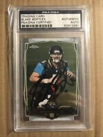 2014 BLAKE BORTLES TOPPS CHROME HAND SIGNED AUTOGRAPH PSA/DNA ROOKIE RC #187