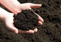 ORGANIC POTTING SOIL ~ OMRI Listed Mix Dirt Gardening All Natural Compost ~ BULK