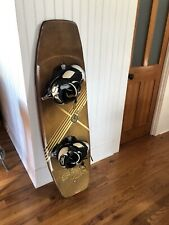 CWB PURE WAKEBOARD and boot/bindings 141