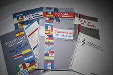 Abeka Spanish 1 Foreign Language Home School Spanish Current Edition 9 10 11 12