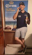Tony Romo Corona Advertisment Cardboard Cutout w/ Speaker Box