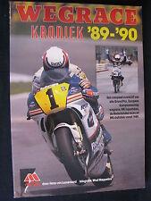 Tijl Book Wegrace Kroniek '89-'90 van Loozenoord / Meppelink (Nederlands) (TTC)