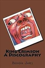 King Crimson : A Discography, Paperback by James, Brendan, Brand New, Free sh...