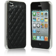For Apple iPhone 4 4S ShockProof Soft Protective Deluxe  Electroplate Case Cover