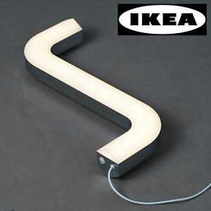 IKEA ART EVENT 2021 x Gelchop LED Table Lamp Allen Key Shaped Light Silver USB