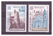 MONACO .  N° 1101 / 1102  .  2  VALEURS   EUROPA  NEUVES  **   . SUPERBE .
