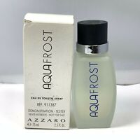 AQUAFROST By Azzaro Eau De Toilette Spray For Men 75ml/2.5oz. New In Tst Box