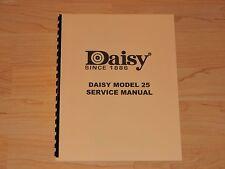 Daisy Model 25 Factory Service Manual - #D5