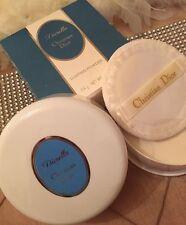 100% Auténtico DIOR DIORELLA Perfumado polvo de polvoreda & Puff enorme 4 OZ (approx. 113.40 g) sólo 1on de eBay