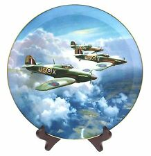 Coalport The Hurricane Plate 1987 Frank Wootton collector plate - Limited