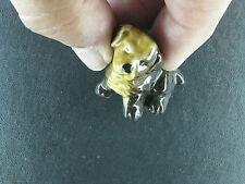 Miniature Dog Figurine ( Wade Red Rose Tea Porcelain Figurine ) Whimsies