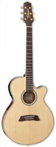 Takamine TSP138C Acoustic/Electric Guitar Natural w/ Case