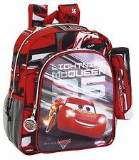 CARS 3 Mochila Junior adaptable a carro + estuche// Junior Rucksack