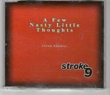 (HJ322) Stroke 9, A Few Nasty Little Thoughts sampler - 2000 DJ CD