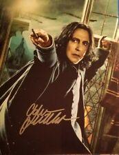 Alan Rickman ++ Autogramm ++ Harry Potter ++ Snape ++ Sweeney Todd ++ Autograph