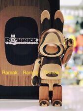 Medicom Be@rbrick Rabbrick Wood 400% Layered Wooden Bearbrick R@bbrick
