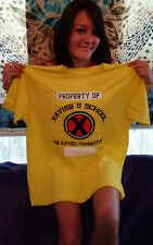 September 2019 Loot Crate Exclusive X-Men Property Of Xavier School T-Shirt XL