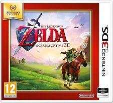 Nintendo Selects The Legend of Zelda: Ocarina of Time (Nintendo 3DS) Pal NEW!
