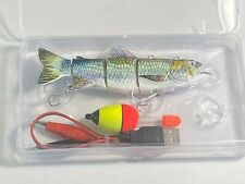Robotic Swimming Fishing Electric Lure Usb Rechargeable. Swimbait Lure.Must try!