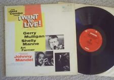 "jazz GERRY MULLIGAN, SHELLY MANNE - ""I WANT TO LIVE"" sound track SUPER CLEAN!"