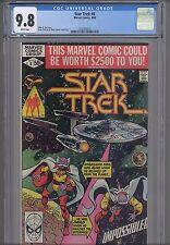 Star Trek #6  CGC 9.8 1980 Marvel  Comic: NEW Frame