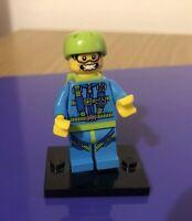 Lego Minifigure Series 10 Skydiver 71001-6 (2013) Parachute Jump
