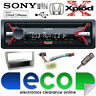 Honda Civic EP1 00-06 CDX-G1100U CD MP3 USB Aux In Car Stereo SILVER Fitting Kit