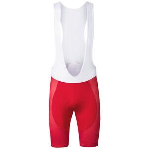 Red Cycling Bib Short Bicycle Bike Mountain Jersey Shirt Clothing Gel Pad Pant