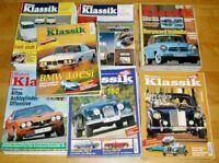 50x Motor Klassik große Sammlung 90er Jahre Zeitschrift Automobile Oldtimer 1992