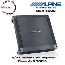 Alpine BBX-T600 - 2/1 canali CLASSE A/B AUTO AMPLIFICATORE 300W altoparlante o bass amp