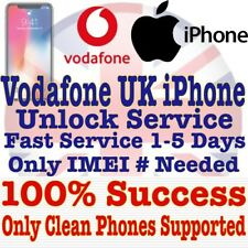 iPhone 8 8 plus + iPhone 8 8+ 7 7 Plus Vodafone UK Unlock Unlocking Service Fast