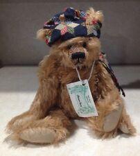"""Vintage Heidi Steiner mohair teddy bear With Growler ,14"""" Tall"""