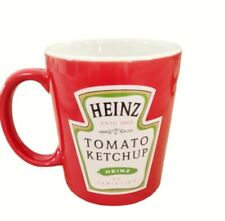 More details for original heinz tomato ketchup mug /cup.  official merchandise 2014 red beams
