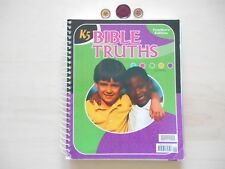 Bob Jones BIBLE TRUTHS  K5  teacher guide homeschooling Kindergarten