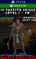 Diablo 3 - PS4 - Xbox One - Fully Modded PRIMAL Set - Pestilence - Necromancer