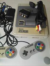 SNES Konsole, Super Nintendo mit 2 original Controller + Kabel