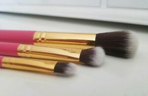 New * LUXIE * Summer Daze * 3 Piece Makeup Brush Set * BoxyCharm