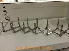 IKEA VARIERA Edelstahl Tellerhalter Deckelhalter Edelstahl / Spare Rib Halter
