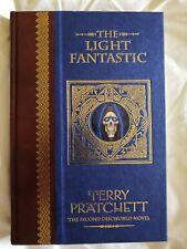 Terry Pratchett Light Fantastic Unseen Library Deluxe Limited Ed 2001 Discworld