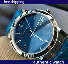 AUTHENTIC Burberry Men's Watch BU9031 Blue Sapphire Crystal free shipping
