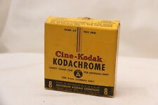 Cine-Kodak Kodachrome Safety Color Film 8mm Magazine 1951 25ft